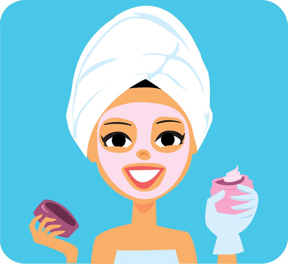 spa-facial-woman-clip-art.jpg | Clipart Panda - Free ...