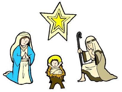 Merry Christmas Nativity Clipart | Clipart Panda - Free Clipart Images