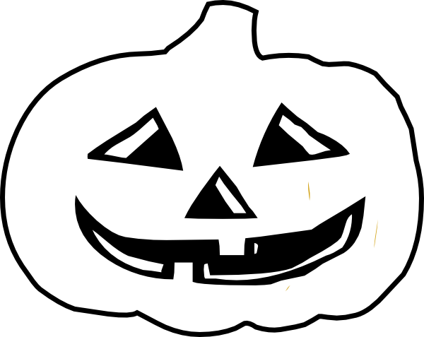 Jack O Lantern Outline Clip Art Clipart Panda Free