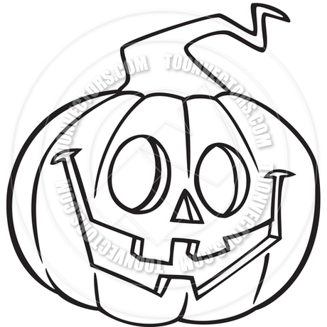 Jack O Lantern Clipart Black And White Clipart Panda