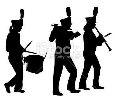 Marching Band Clipart Clarinet marching band hat clip art