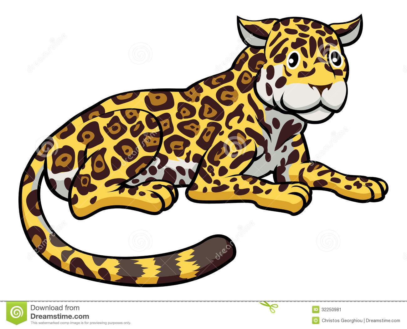 cute jaguar clipart - photo #42