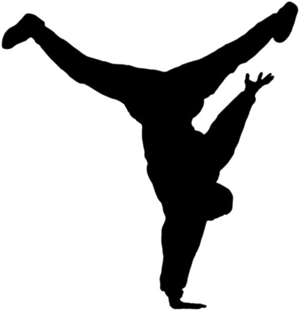 Hip Hop Dancer Clip Art