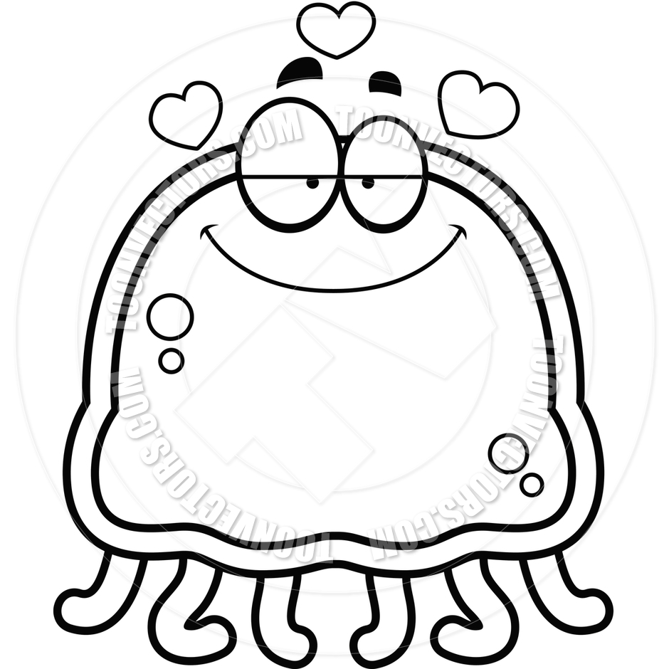 Cartoon Little Jellyfish in | Clipart Panda - Free Clipart ...