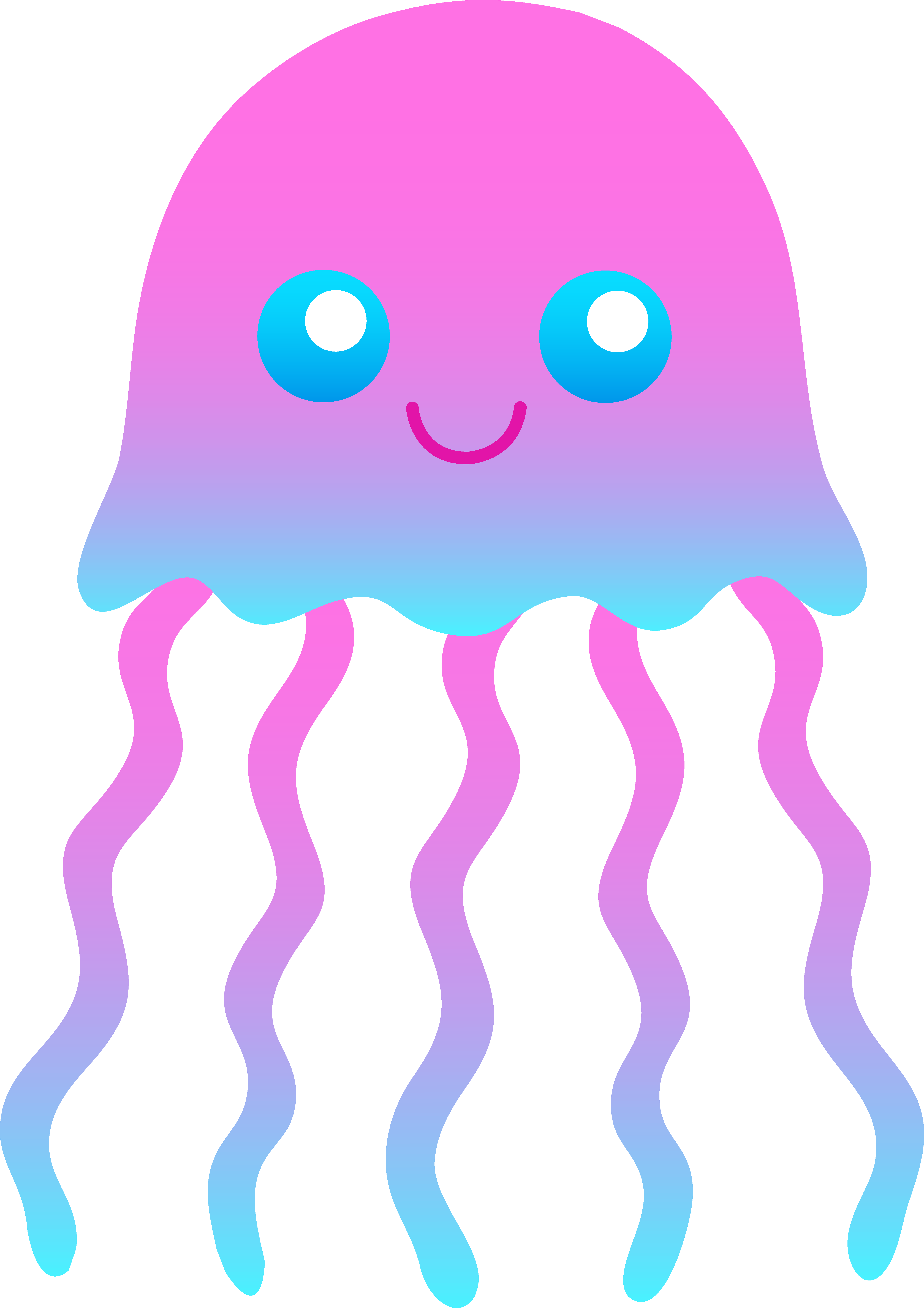 cute jellyfish clipart clipart panda free clipart images rh clipartpanda com jellyfish clipart animation jellyfish images clip art
