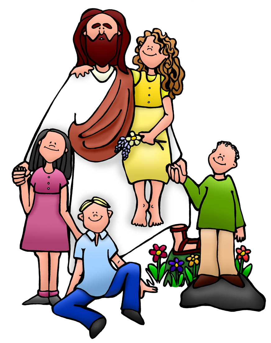 Jesus Christ With Children Clipart Jesus children clip art