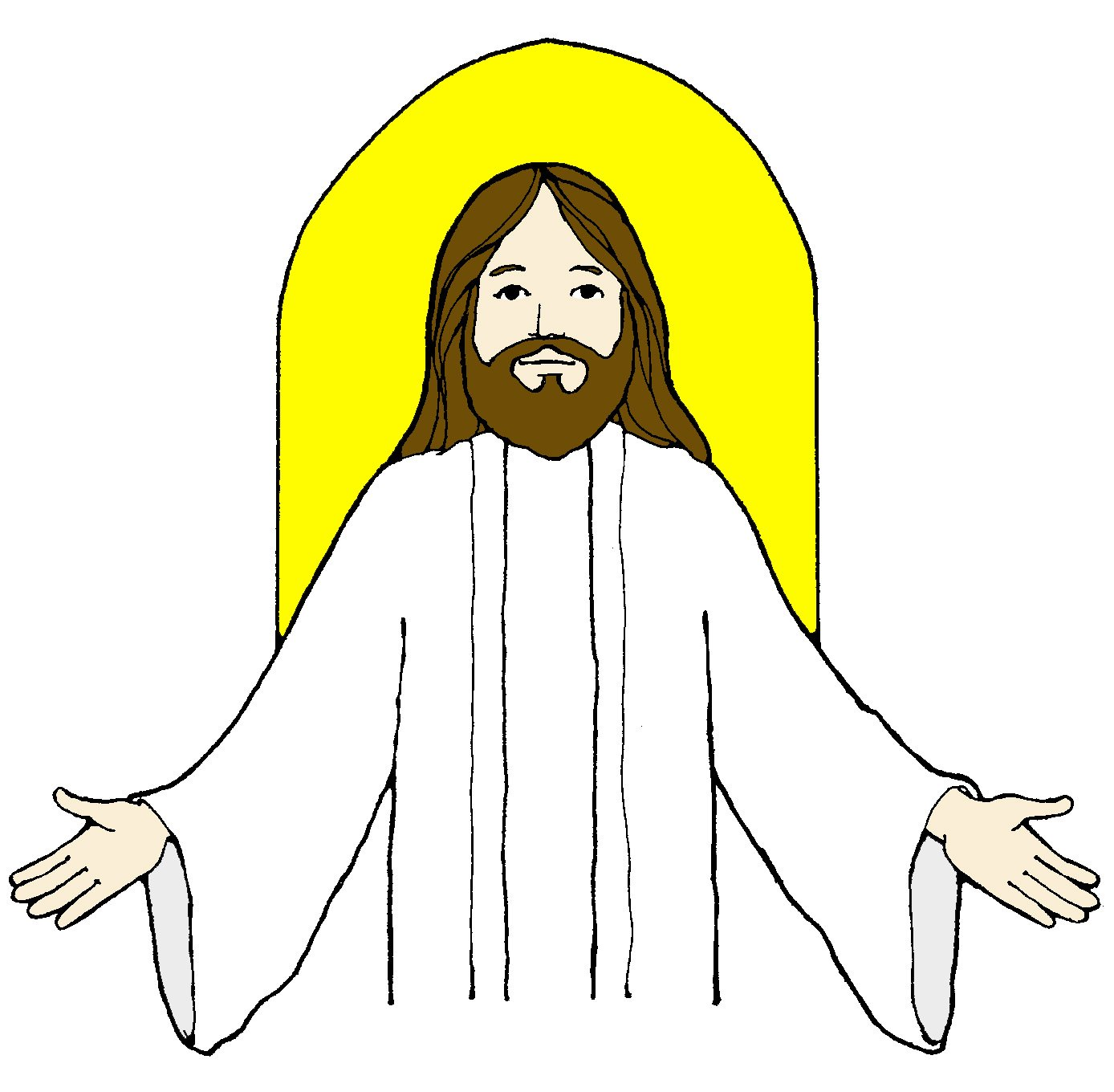 jesus clip art black and white clipart panda free clipart images rh clipartpanda com clipart of jesus and his disciples clipart of jesus christ