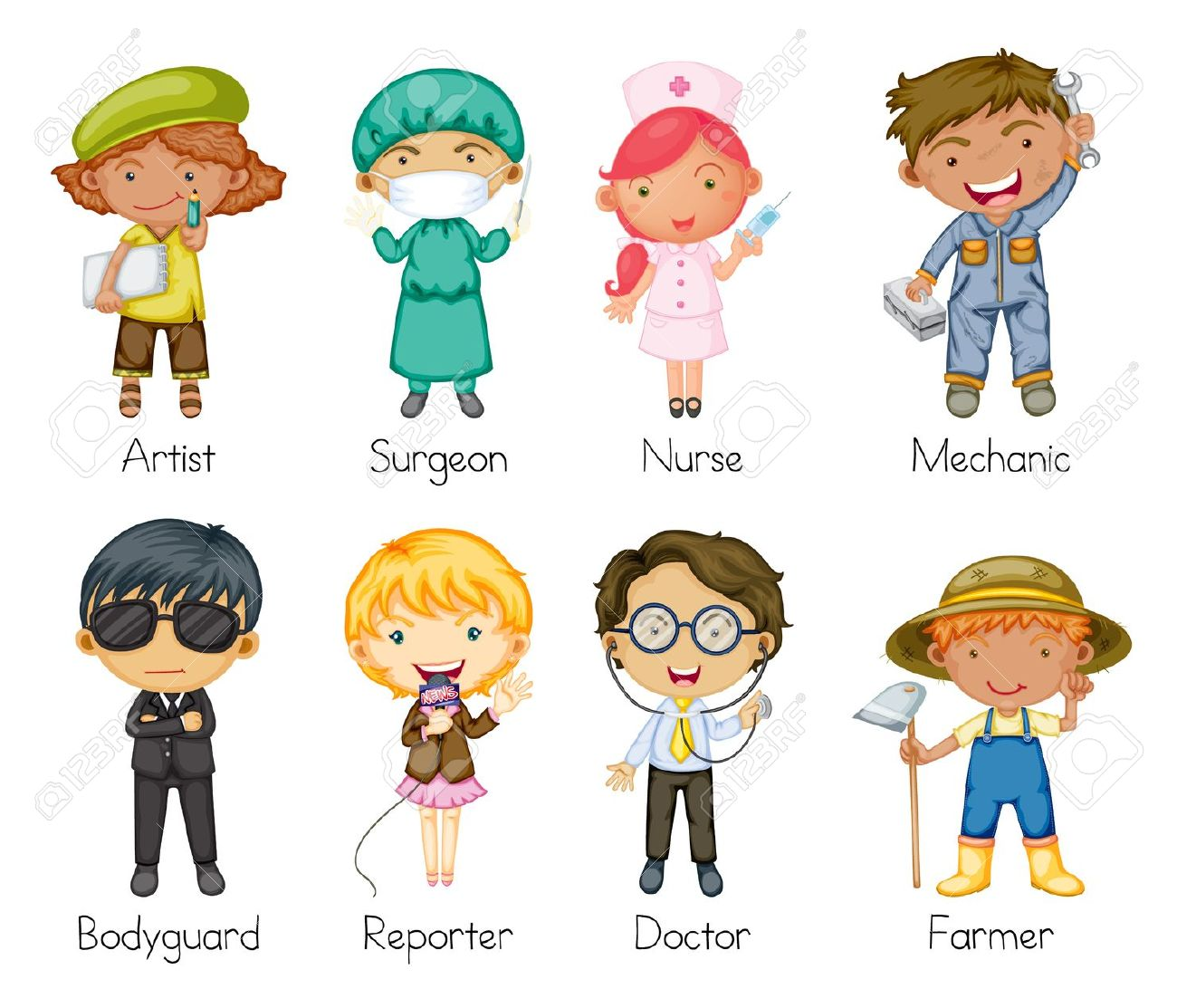 Art Jobs : Cartoon job clipart panda free images