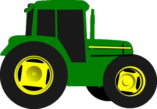 Simple Tractor Clip Art : John deere green tractor clipart panda free