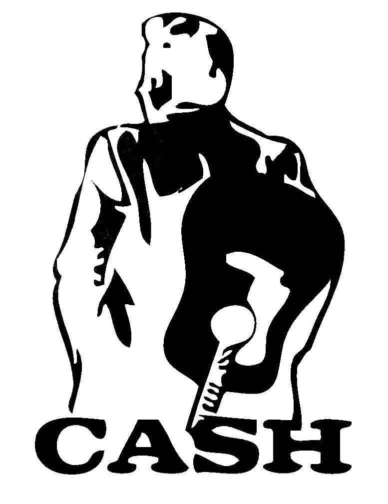 Johnny Cash Clipart Panda