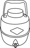 jug clipart black and white. jug%20clipart jug clipart black and white l