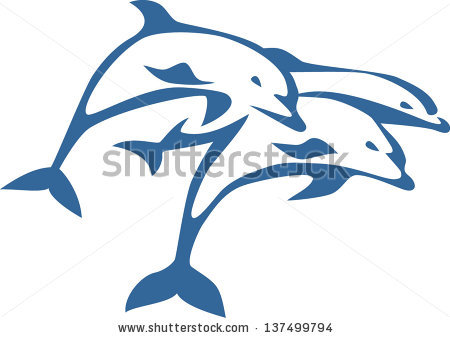 Bottlenose Dolphin Jumping | Clipart Panda - Free Clipart Images