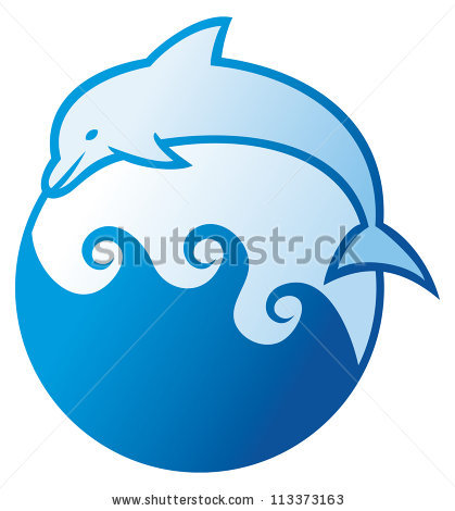 ... dolphin-jumping-symbol-dolphin-label-dolphin-sign-dolphin-and-waves