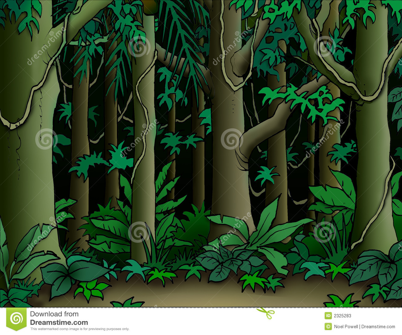 Jungle Clip Art Background | Clipart Panda - Free Clipart Images