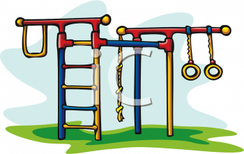 Jungle Gym Coloring Pages Clipart
