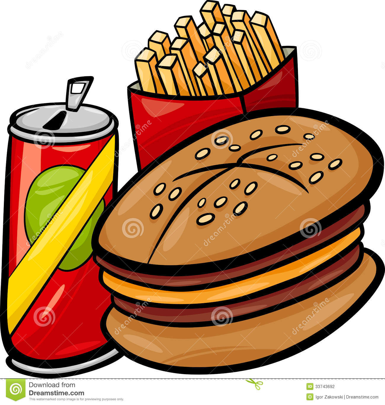 Eating Junk Food Clipart | Clipart Panda - Free Clipart Images