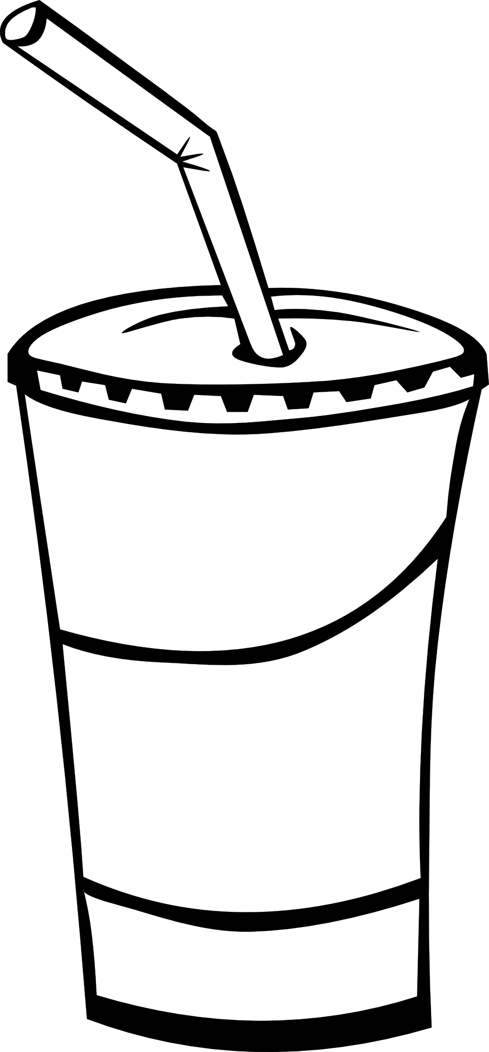 Line Art Food : Junk food clipart black and white panda free