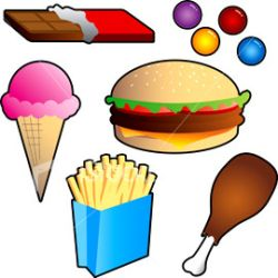 junk food vs healthy food for | Clipart Panda - Free ...