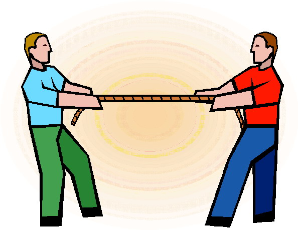 Tug Of War Clip Art | Chadholtz