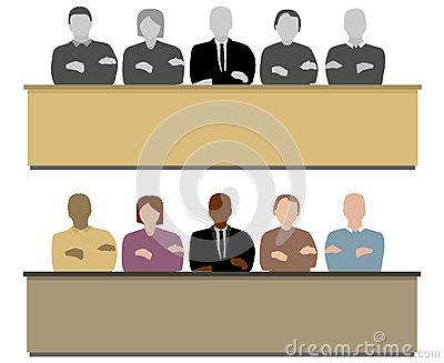 Jury Box Clipart