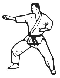 karate-clip-art... Clip Art Of Karate