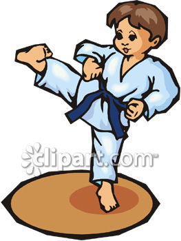 Sports Clipart  Free Karate Clipart to Download