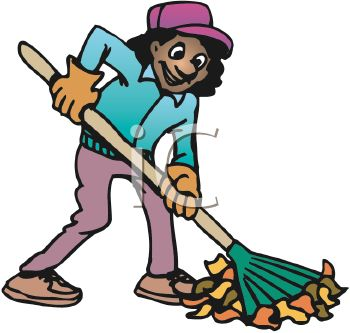 rake and leaves clip art clipart panda free clipart images rh clipartpanda com Woman Raking Leaves Clip Art Man Raking Leaves