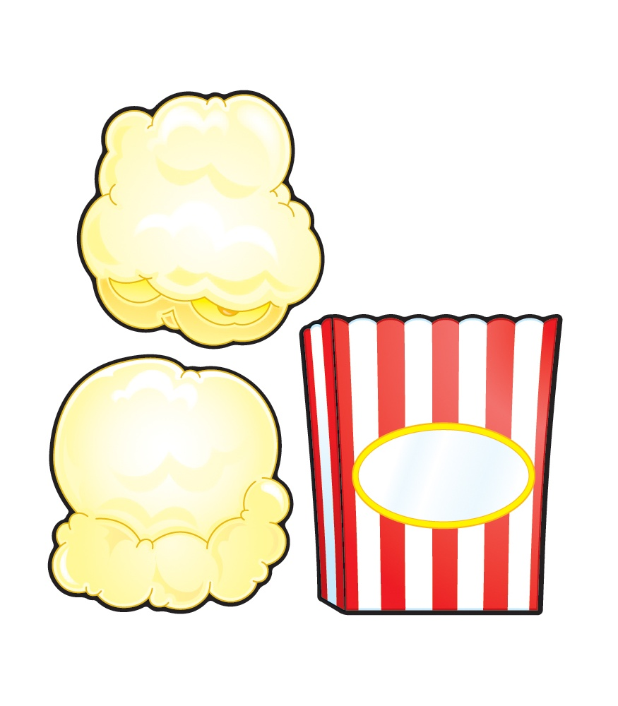 Popcorn Clipart Black And White | Clipart Panda - Free Clipart Images
