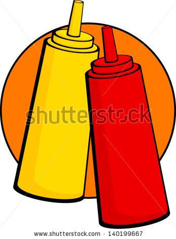 ketchup and mustard bottles | Clipart Panda - Free Clipart ...
