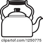 Kettle Clipart Black And White | Clipart Panda - Free ...