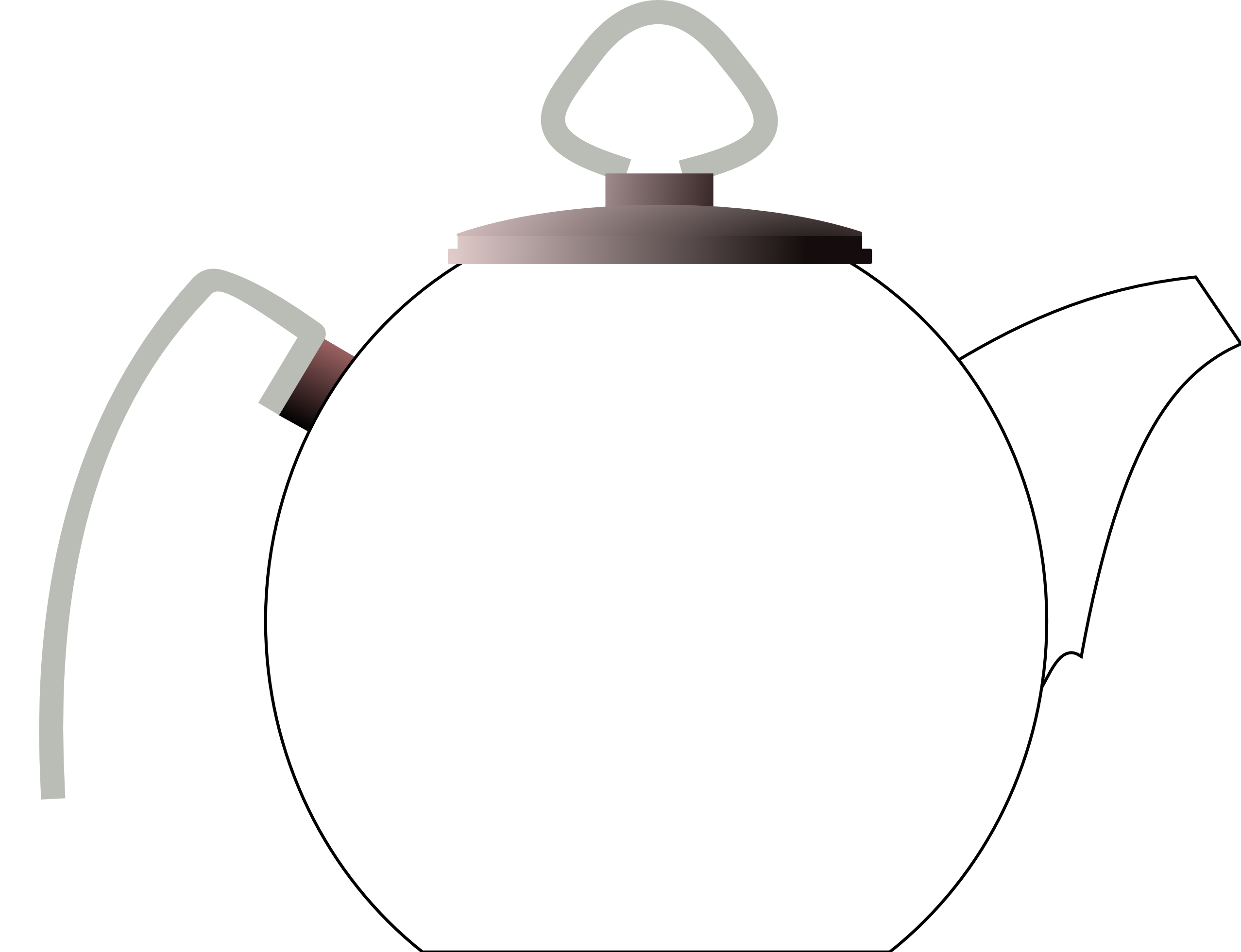 Kettle Clipart Black And White | Clipart Panda - Free Clipart Images