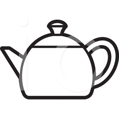 Kettle Clipart Black And White Images