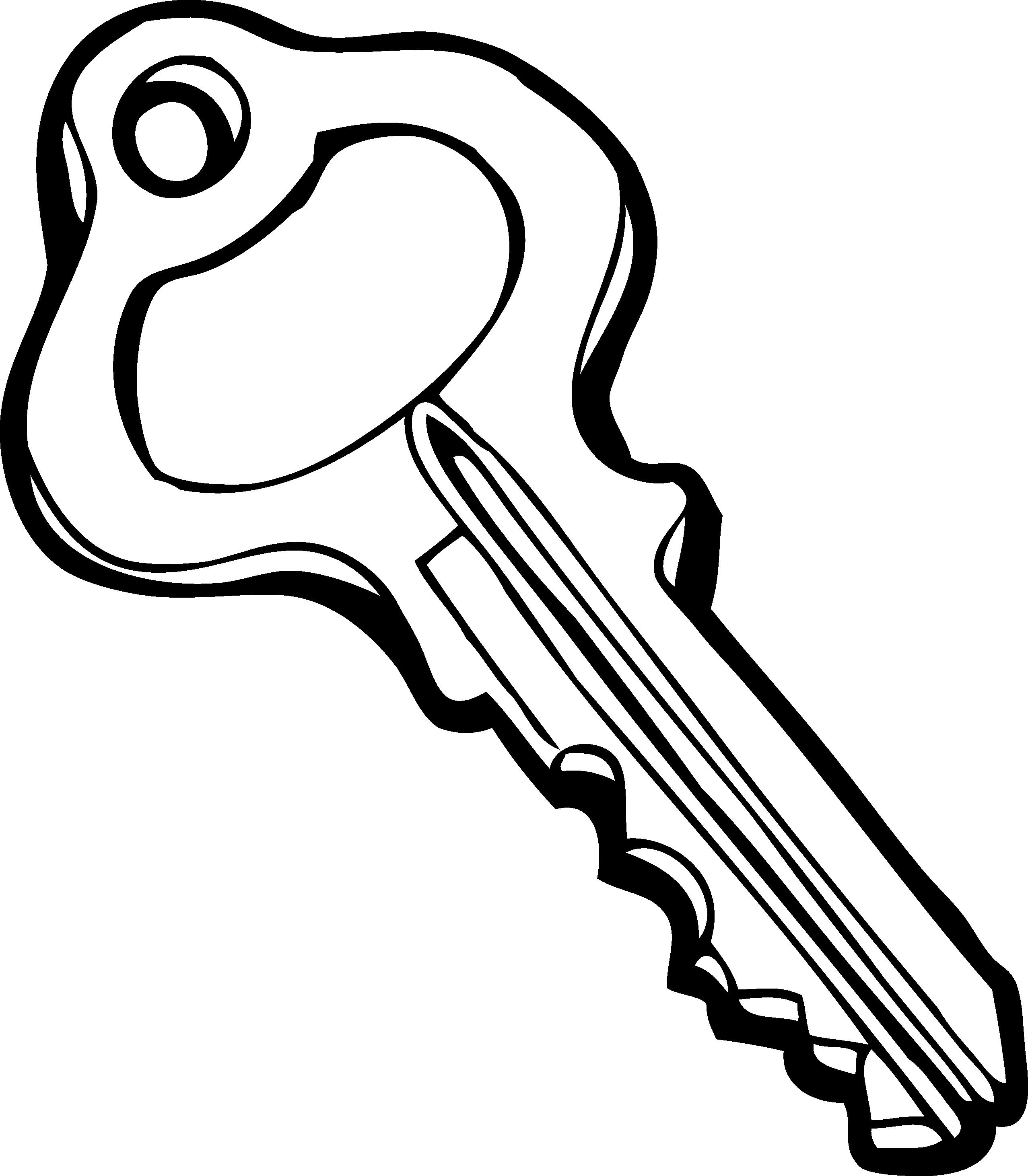 Key Clip Art Black And White