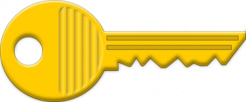 Yellow Key Clip Art Clipart Panda Free Clipart Images
