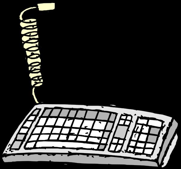 keyboard 20clipart