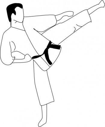 karate kick clip art clipart panda free clipart images rh clipartpanda com karate clip art free download karaté clipart