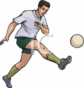 A Man Kicking Soccer Ball | Clipart Panda - Free Clipart ... Rolling Soccer Ball