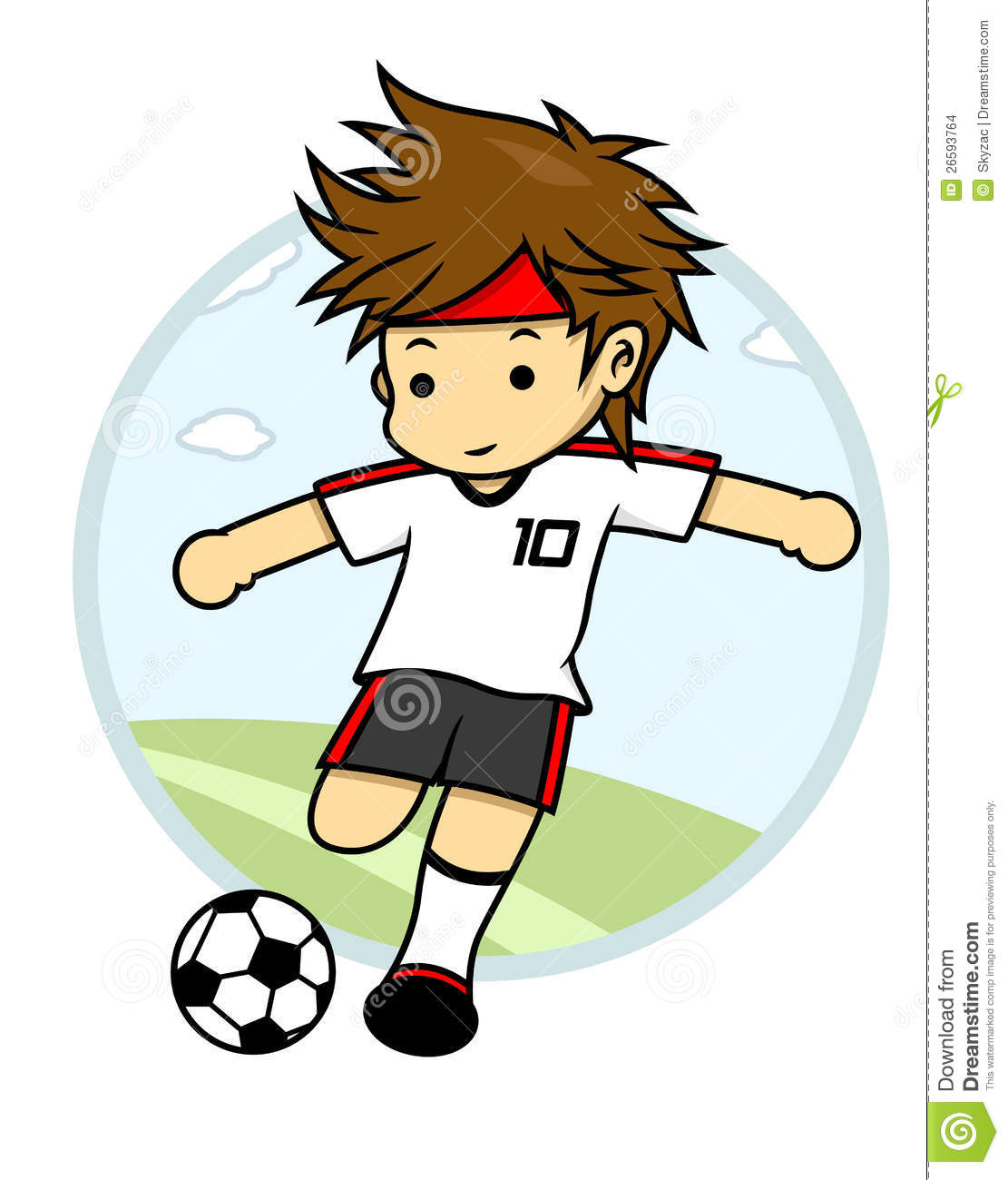 Kicking A Soccer Goal Clipart | Clipart Panda - Free Clipart Images