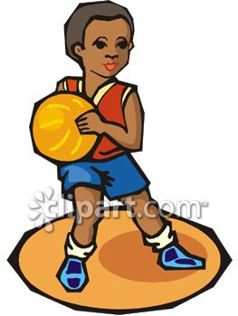 Kid Basketball Player Clipart | Clipart Panda - Free ...