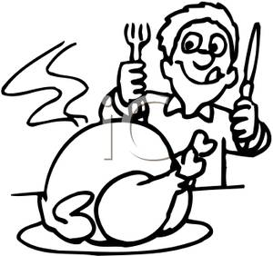 Kid Eating Clipart Black And White Clipart Panda Free