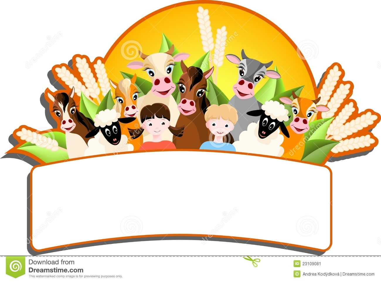 Farm Animals Clipart For Kids | Wallpapers Gallery