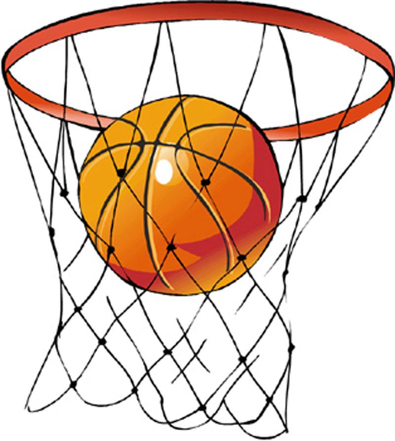 Basketball for kids clipart