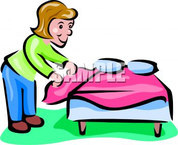 Chores Clip Art Make Bed