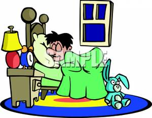 Kids Bed Clipart