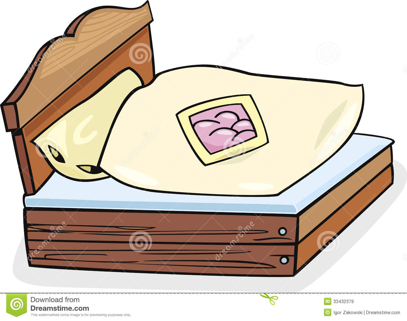 Kids Bed Clipart | Clipart Panda - Free Clipart Images