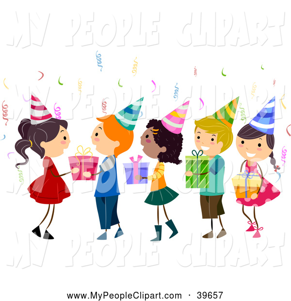 Kids Birthday Party Clip Art | Clipart Panda - Free ...