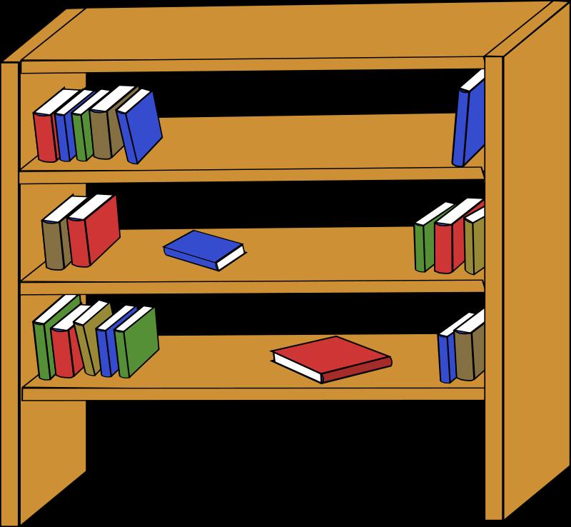 Kids Bookshelf Clipart | Clipart Panda - Free Clipart Images