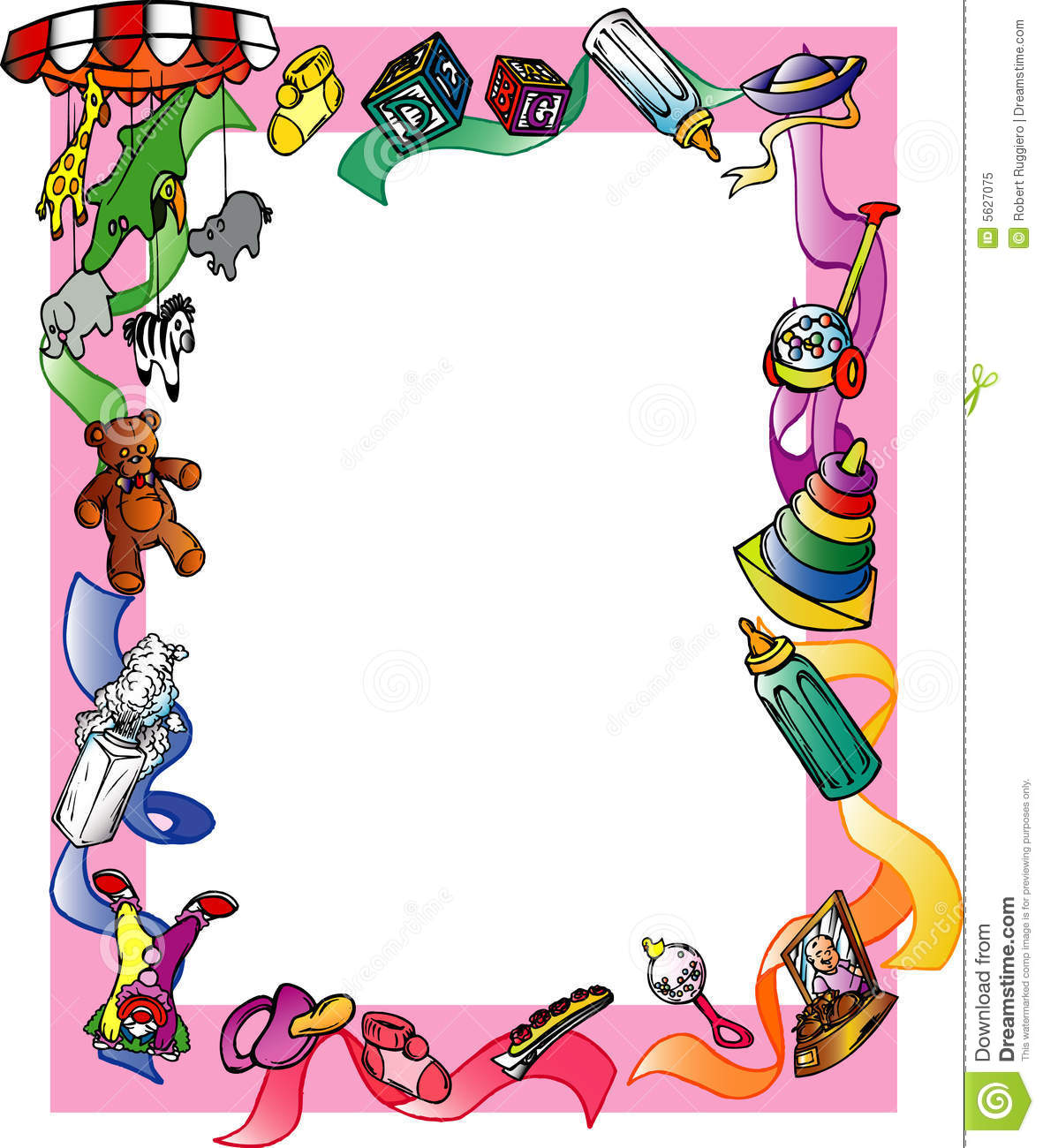 free clip art borders of children' - photo #18