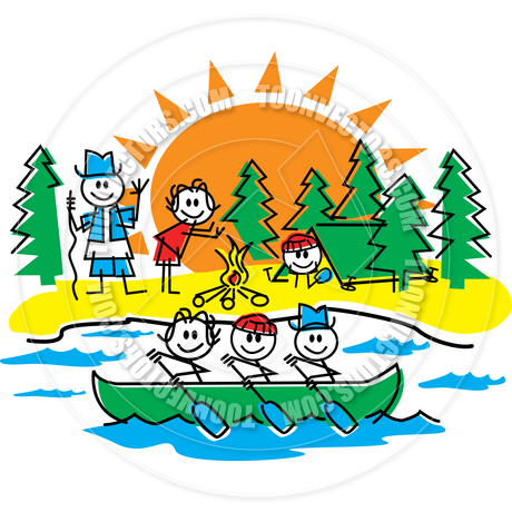 Kids Canoeing Clipart | Clipart Panda - Free Clipart Images