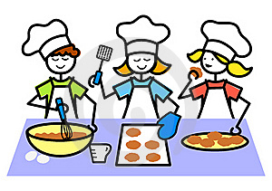 Kids Kitchen Clipart